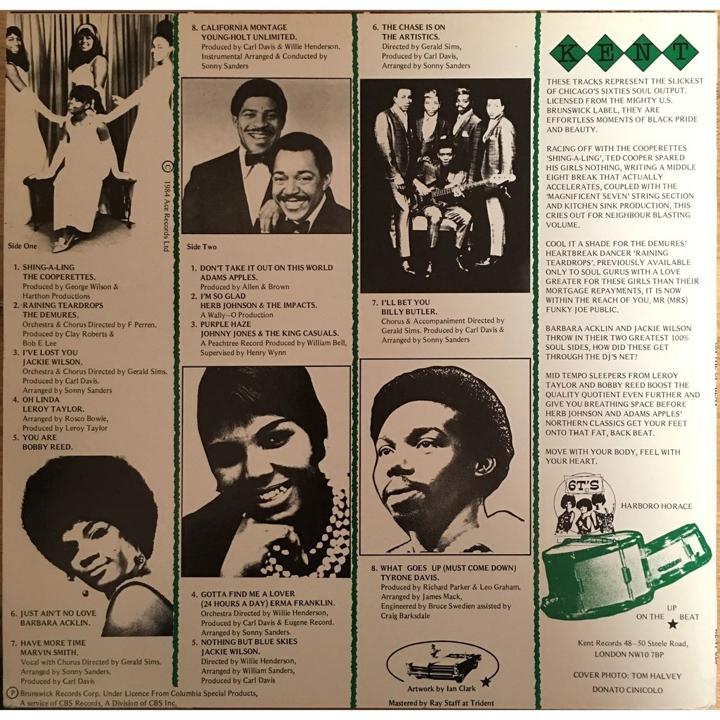 various - On The Up-Beat On The Up-Beat - KENT 020