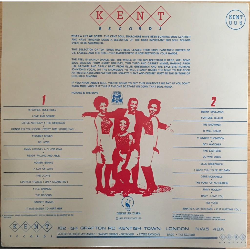 various - On The Soul Side On The Soul Side - KENT 006