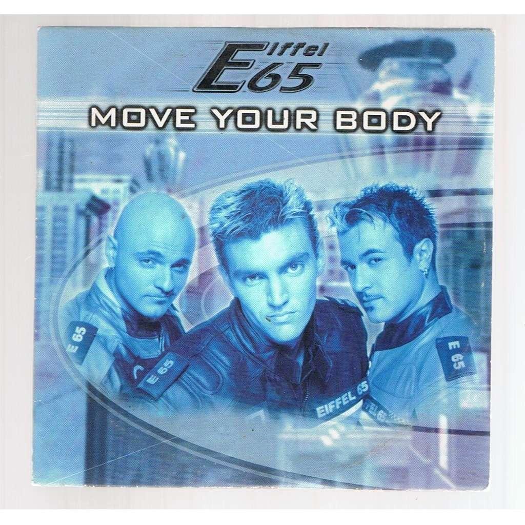 EIFFEL 65 MOVE YOUR BODY -cardboard sleeve-