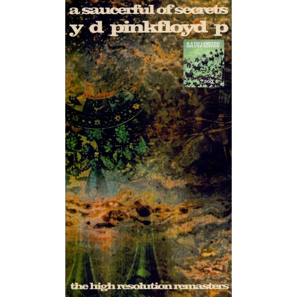pink floyd 4CD A Saucerful Of Secrets - The High Resolution Remasters