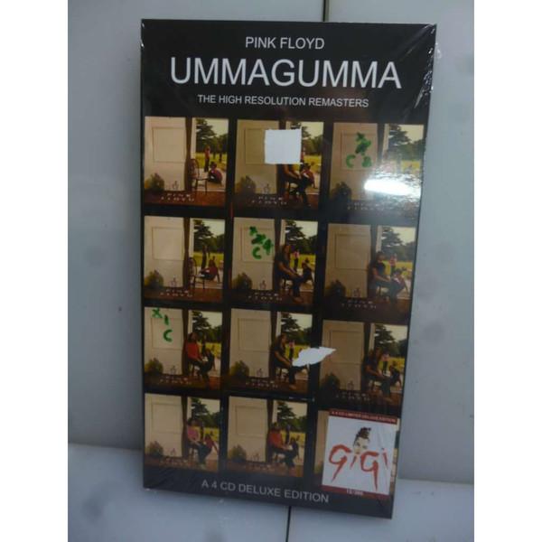 pink floyd 4CD Ummagumma The High Resolution Remasters