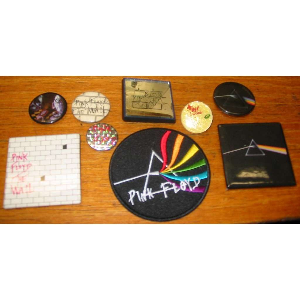 Pink Floyd Pink Floyd Patch and Buttons Set of 9