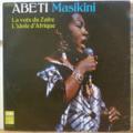 ABETI MASIKINI - La voix du Zaire - l'idole d'Afrique - LP
