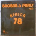 ORCHESTRA BAOBAB - Baobab a Paris vol. 2 Africa 78 - LP