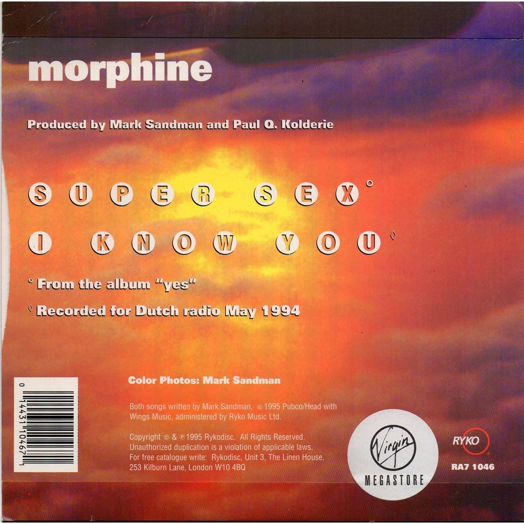 morphine super sex