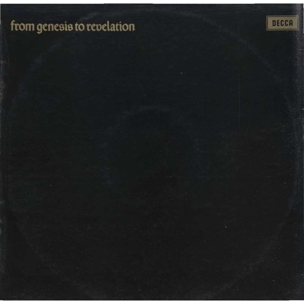 GENESIS FROM GENESIS TO REVELATION ( Original STEREO 1st Pressing)