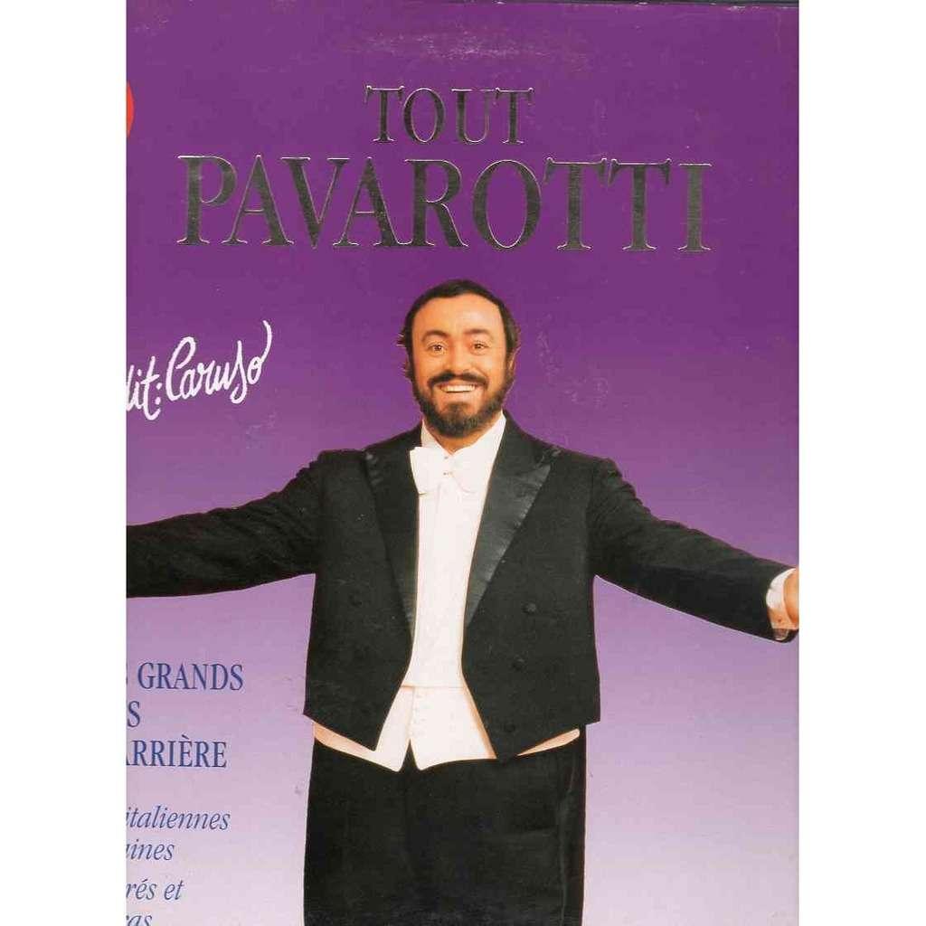 Pavarotti Tout Paravotti en 29 titres Chansons Italiennes et Napolitaines Chants sacrés et airs d'operas Carus