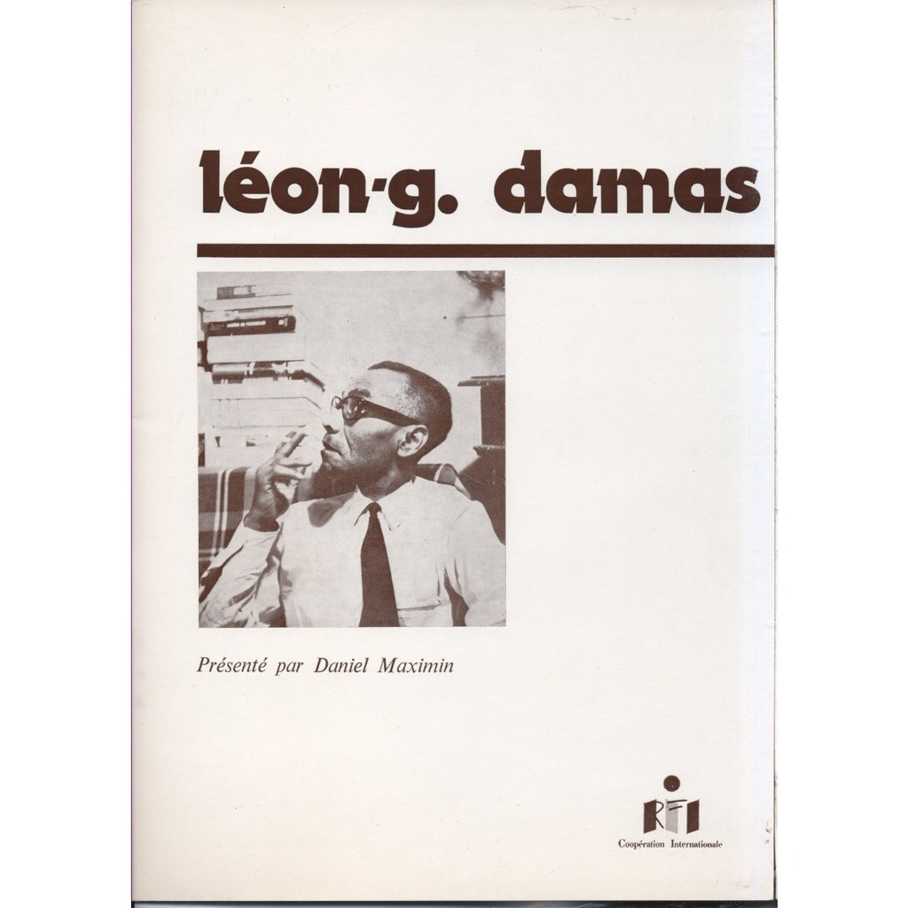 (Léon-Gaston) LEON-G. DAMAS 1988 Léon-Gaston Damas Comité International du Colloque L-G. Damas (Négritude) + Livret 32 p + CD-R