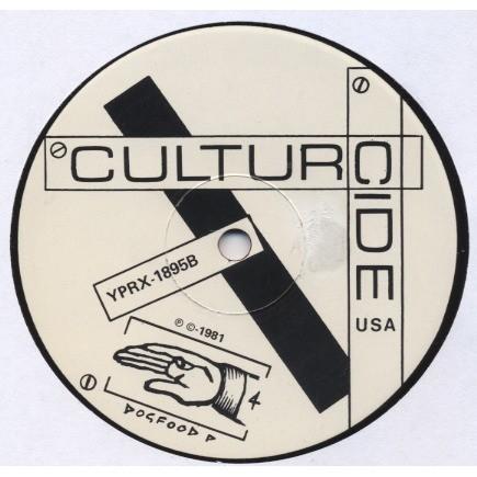 HIROSHIMA CHAIR / CULTURCIDE Reset / Year One (split LP Australia/USA) ORIGINAL (in shrink but opened) + 5 inserts
