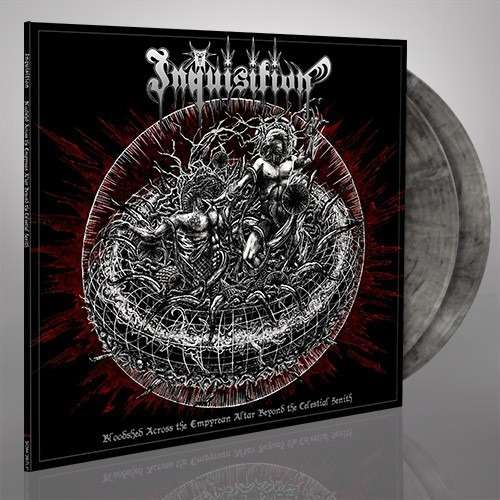 INQUISITION Bloodshed Across the Empyrean Altar Beyond the Celestial Zenith. Marble Vinyl