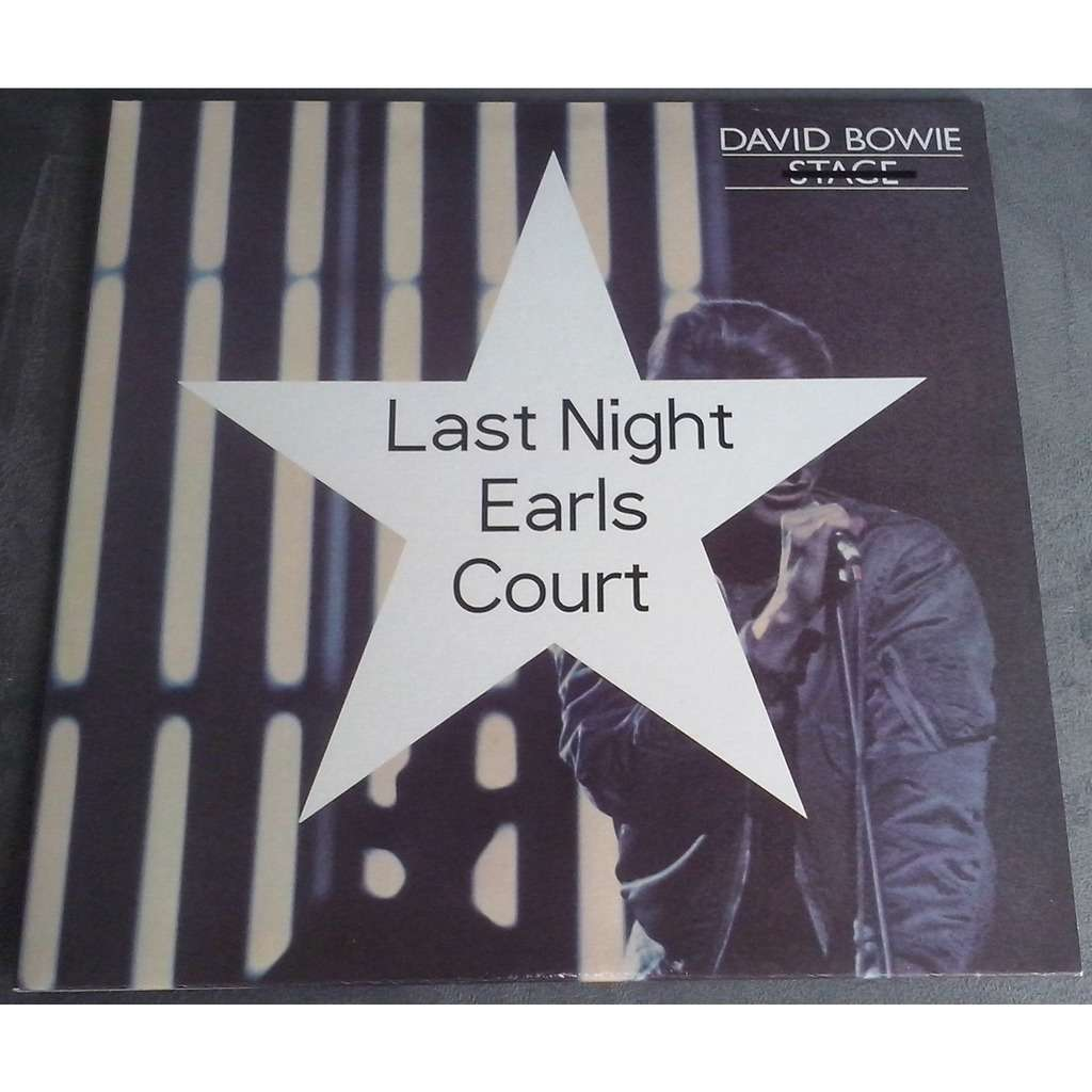 David Bowie Last Night Earls Court (2xlp) Ltd Edit Yellow Vinyl -E.U