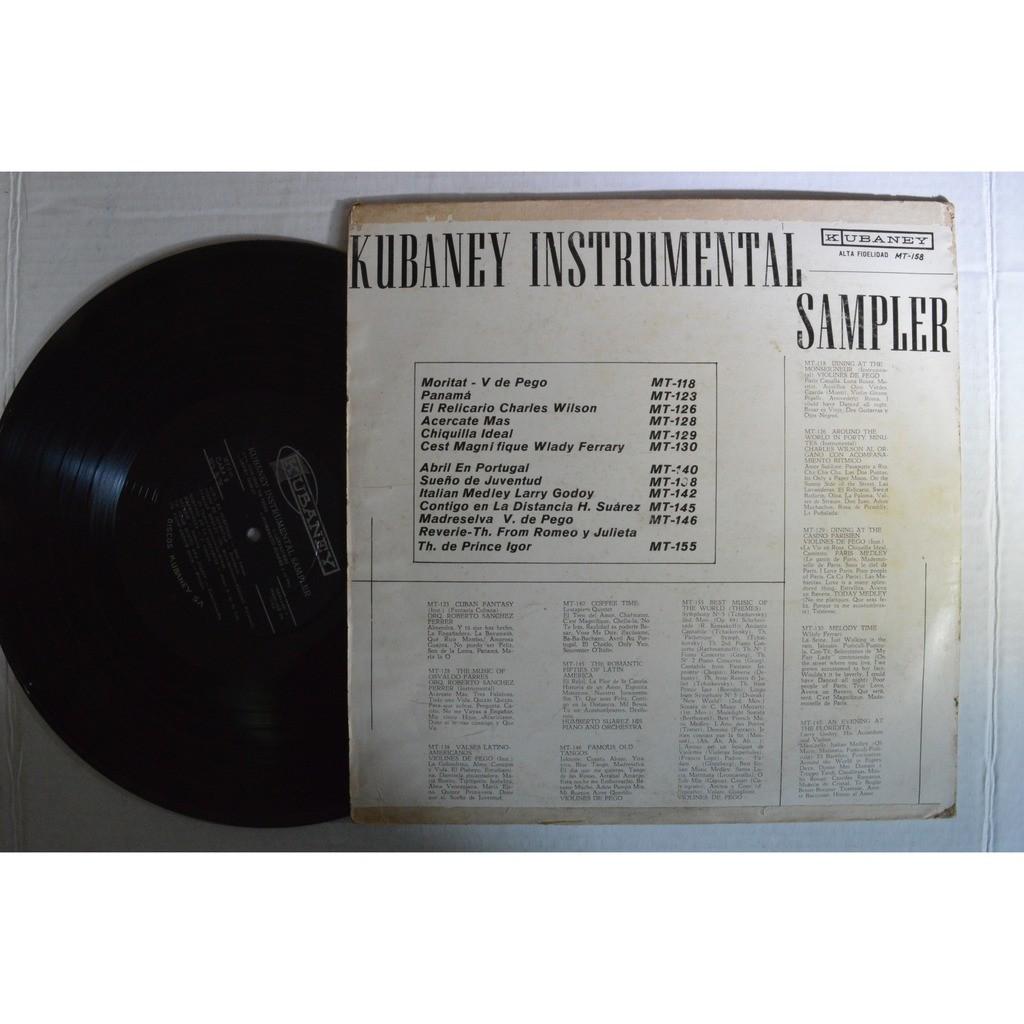 Kubaney Instrumental Sampler Kubaney MT 158