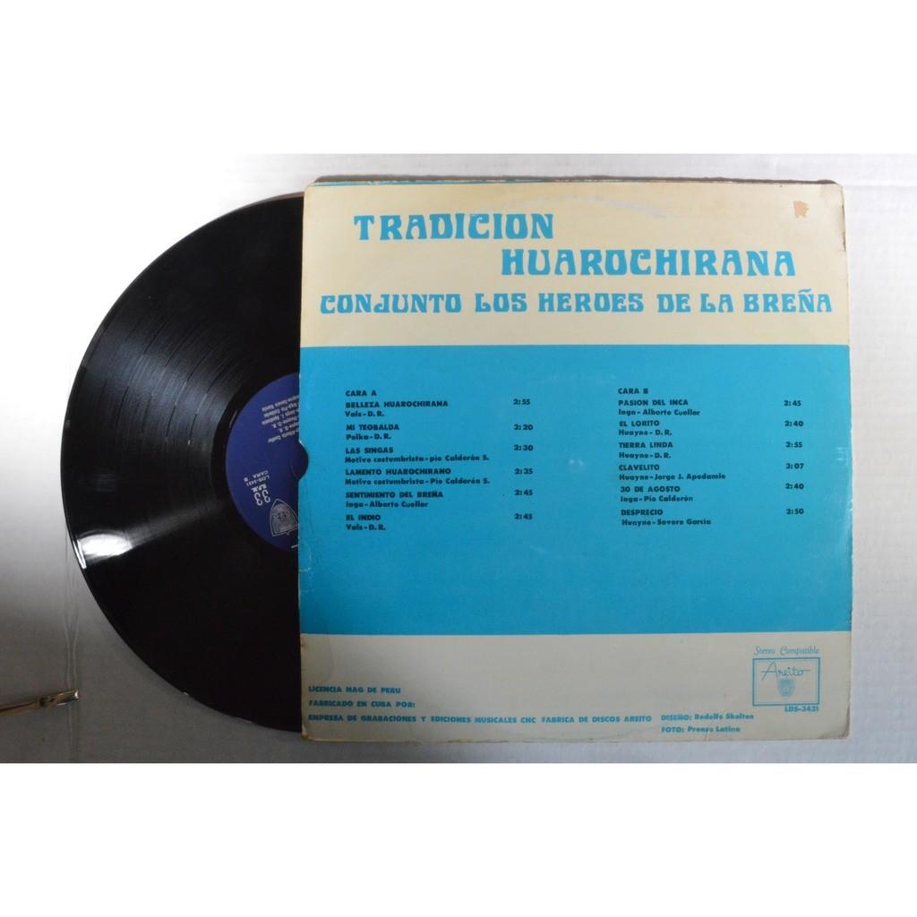 Los Heroes De La Brena Musica Peruana