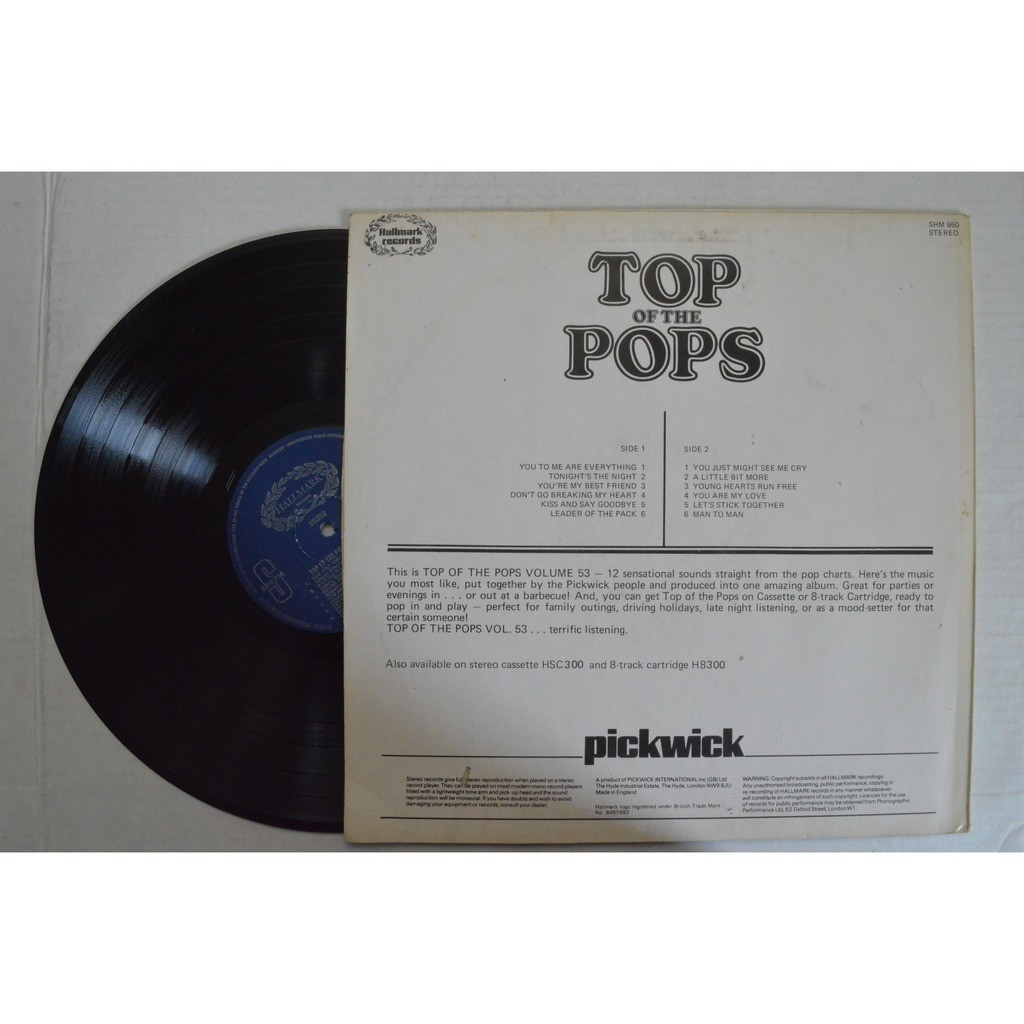 Top Of The Pops Vol. 53