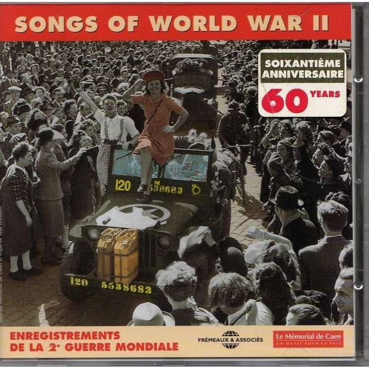 Various Artists (Glenn Miller, Tony Martin,...) SONGS OF WORLD WAR II 1939-1949