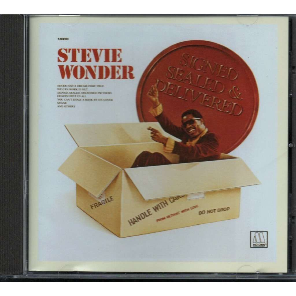 Stevie Wonder Signed Sealed & Delivered