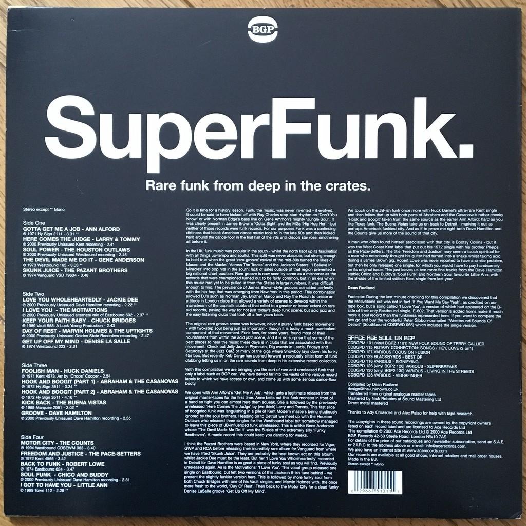 Various SuperFunk