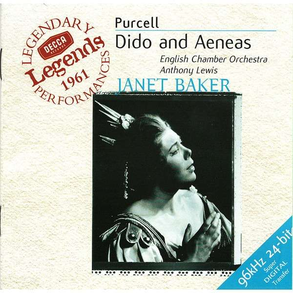 Janet Baker, Anthony Lewis Purcell: Dido and Aeaneas