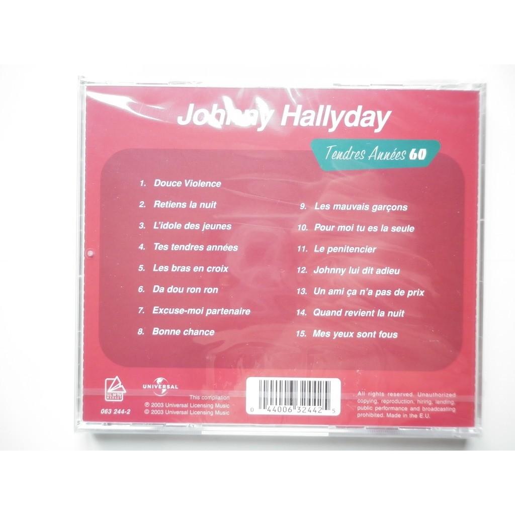 Johnny Hallyday Tendres Années 60