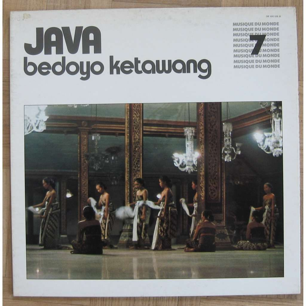 Various Java - Bedoyo Ketawang - vol 7 - Jacques Brunet