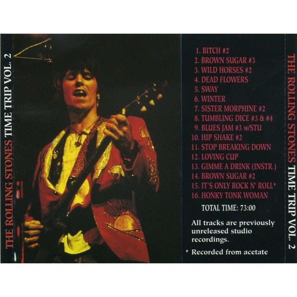 ROLLING STONES Time Trip 1969-1973 Vol. 2