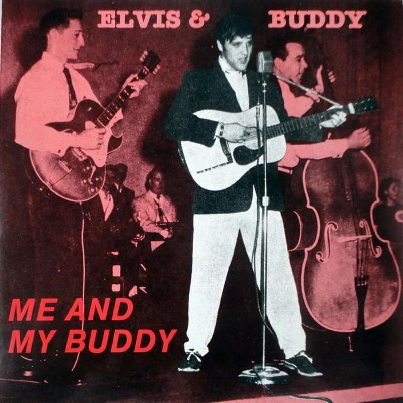 elvis presley buddy holly elvis and buddy LP 33 tours