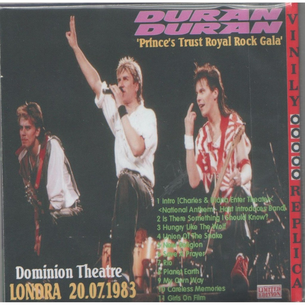 Duran Duran Live at 'Dominion Theatre' (London UK 20.07.1983)