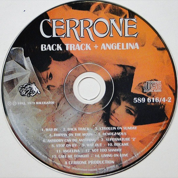 Cerrone Back Track / Angelina