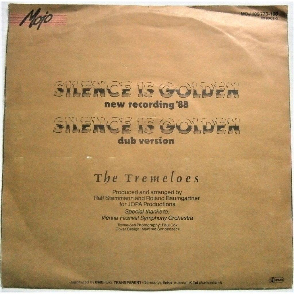 tremeloes silence is golden