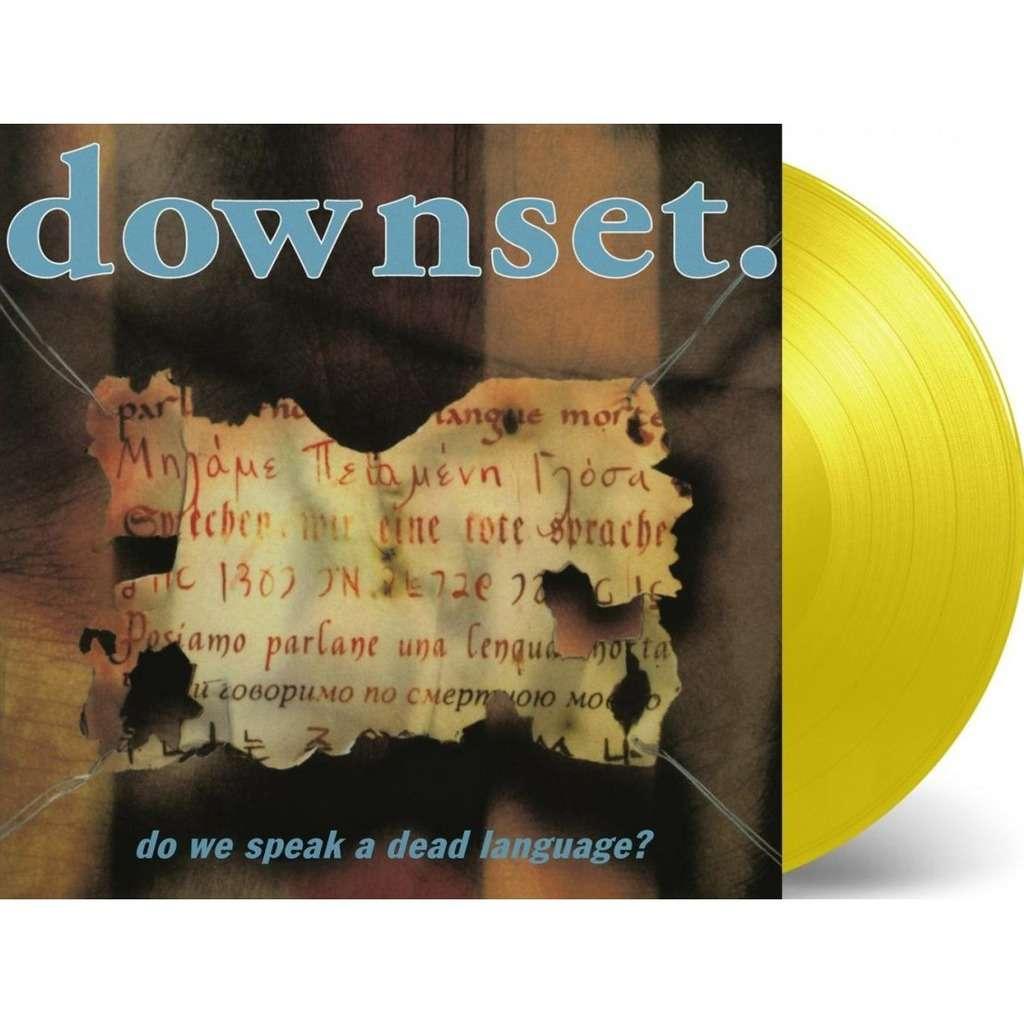 Downset. Do We Speak A Dead Language? (lp) Ltd Edit 1000 Copies & Coloured Vinyl -E.U