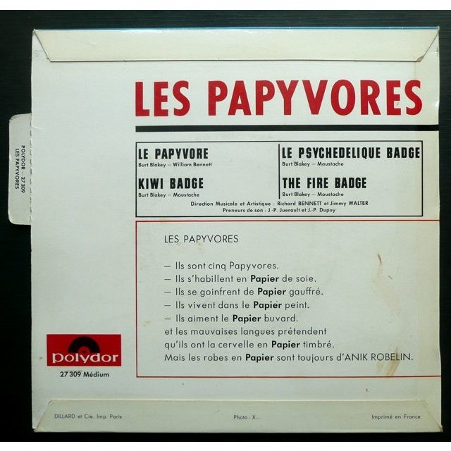 Les Papyvores ‎ Le Papyvore