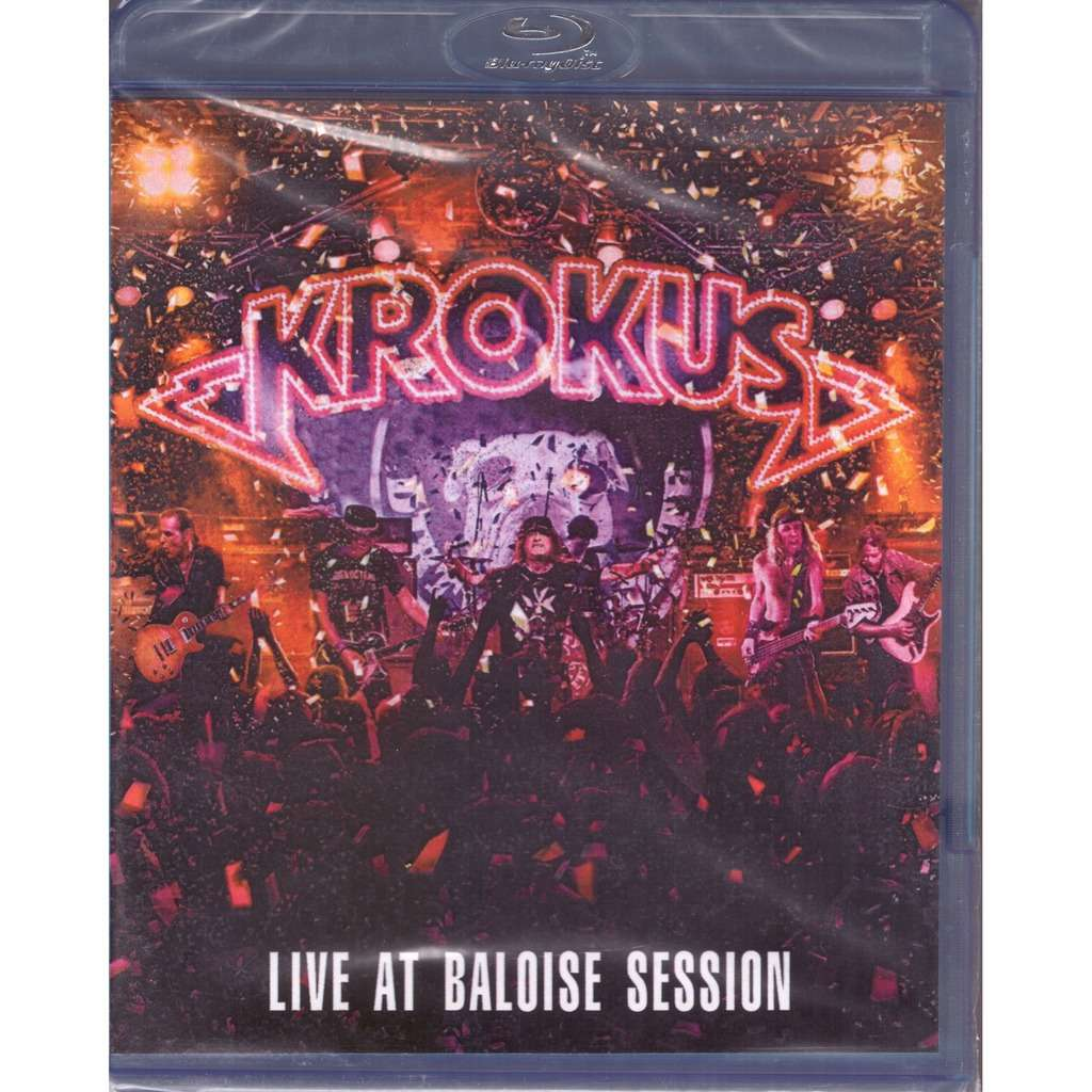 Krokus Live At Baloise Session