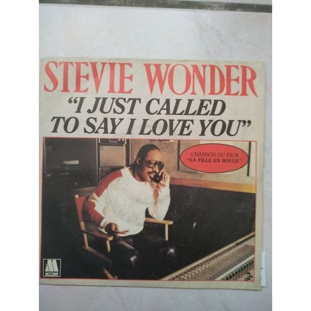 stevie wonder i just called to say i love you