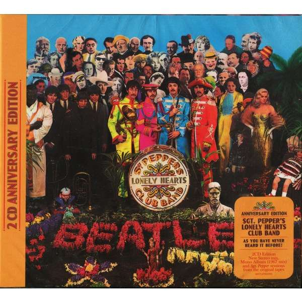 The Beatles Sgt. Pepper's Lonely Hearts Club Band - 2CD Anniversary Edition (2017) New & Factory-Sealed
