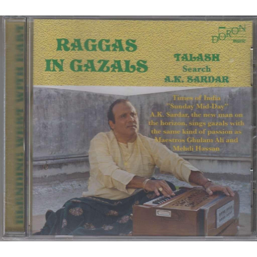 A.K. SARDAR Raggas in Gazals Vol.2 CD NEW