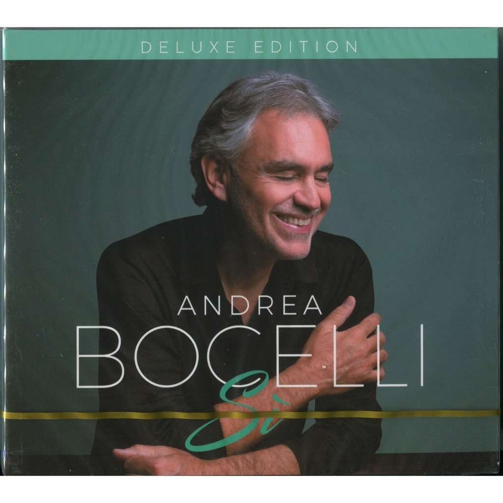 Andrea Bocelli Si (Si') - Deluxe Edition (25 tracks) - 2CD Digipak - New & Factory Sealed (2018)