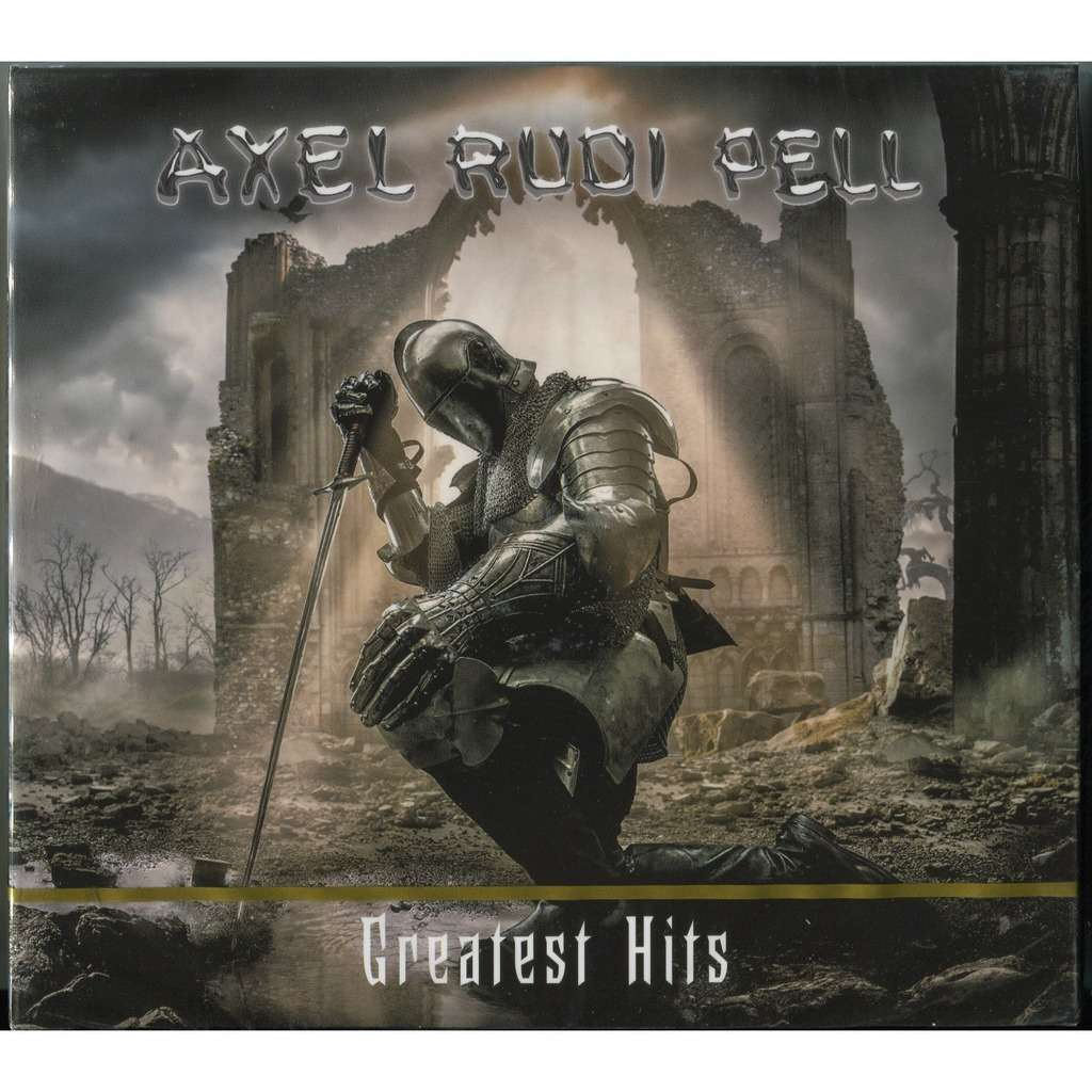 Axel Rudi Pell Greatest Hits (2019) 2CD Digipak (25 tracks) New & Factory-Sealed