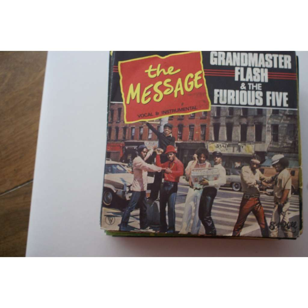 GRANDMASTER FLASH & FURIOUS FIVE The message