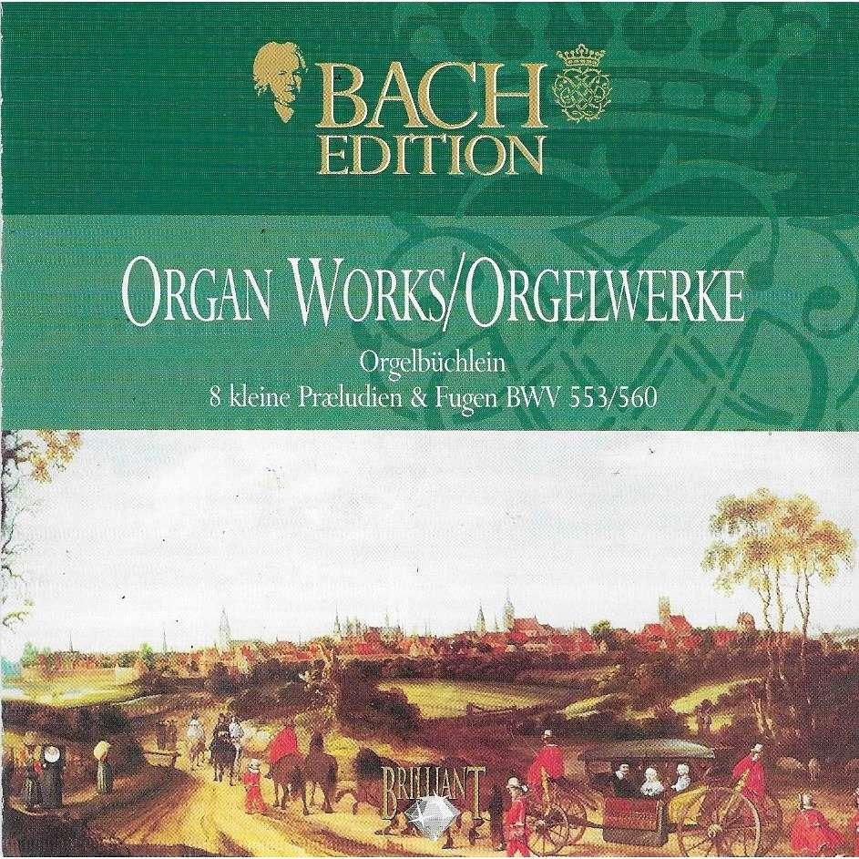 Hans Fagius, Mats Arvidsson Organ Mariefred Church BACH - ORGAN WORKS / ORGELWERKE - Orgelbüchlein / 8 kleine Praeludien & Fugen BWV 553 / 560