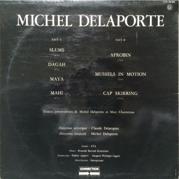 Michel Delaporte Stoned Drums - tambours et percussions