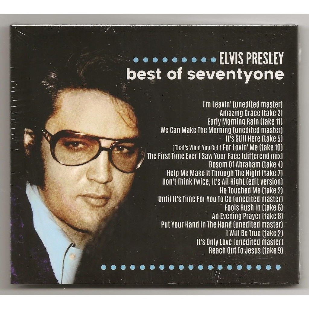elvis presley 1 cd digipack don't think twice it's all right 18 outtakes 1971