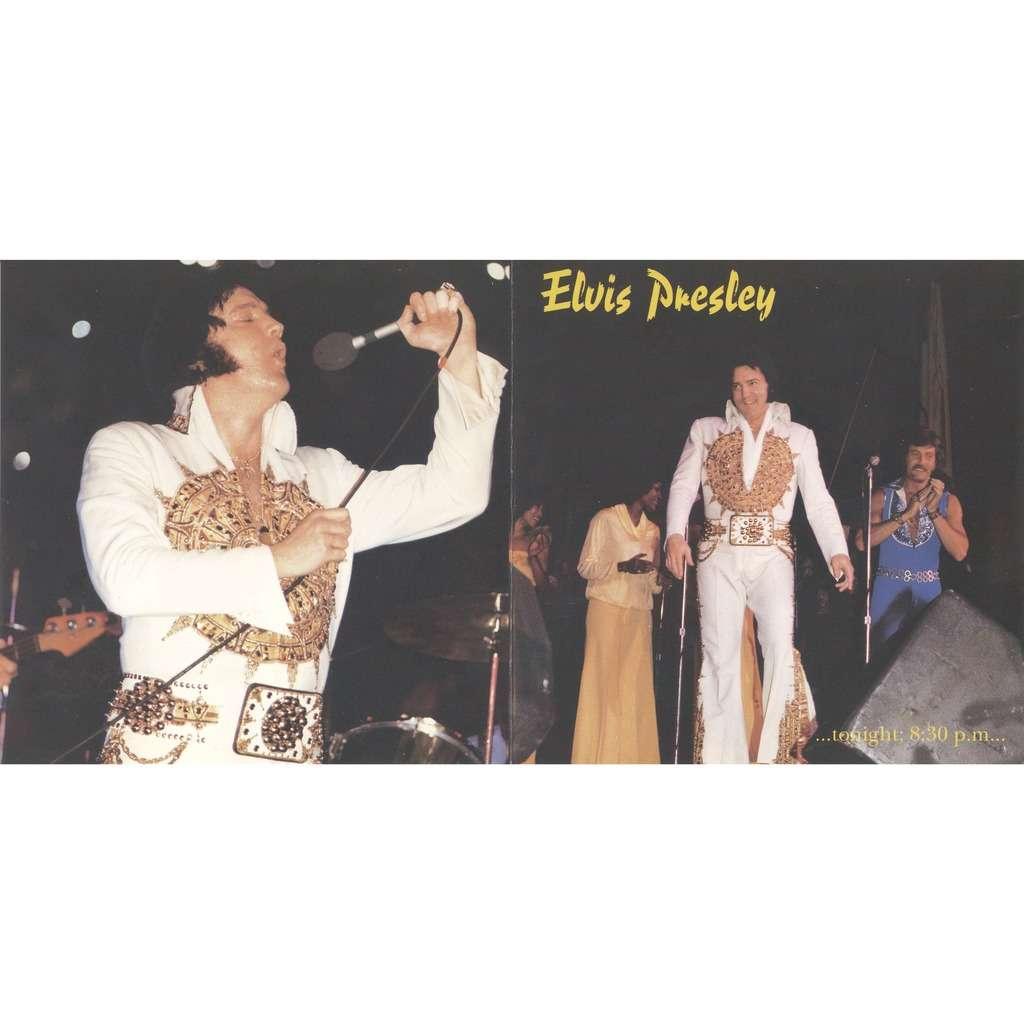 elvis presley 1 cd tonight...8.30 pm cd 22/5/77 largo evening show