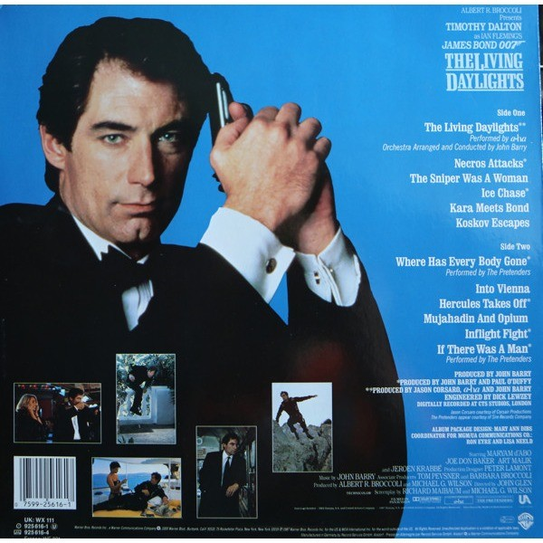 John Barry The Living Daylights (Original Motion Picture Soundtrack)