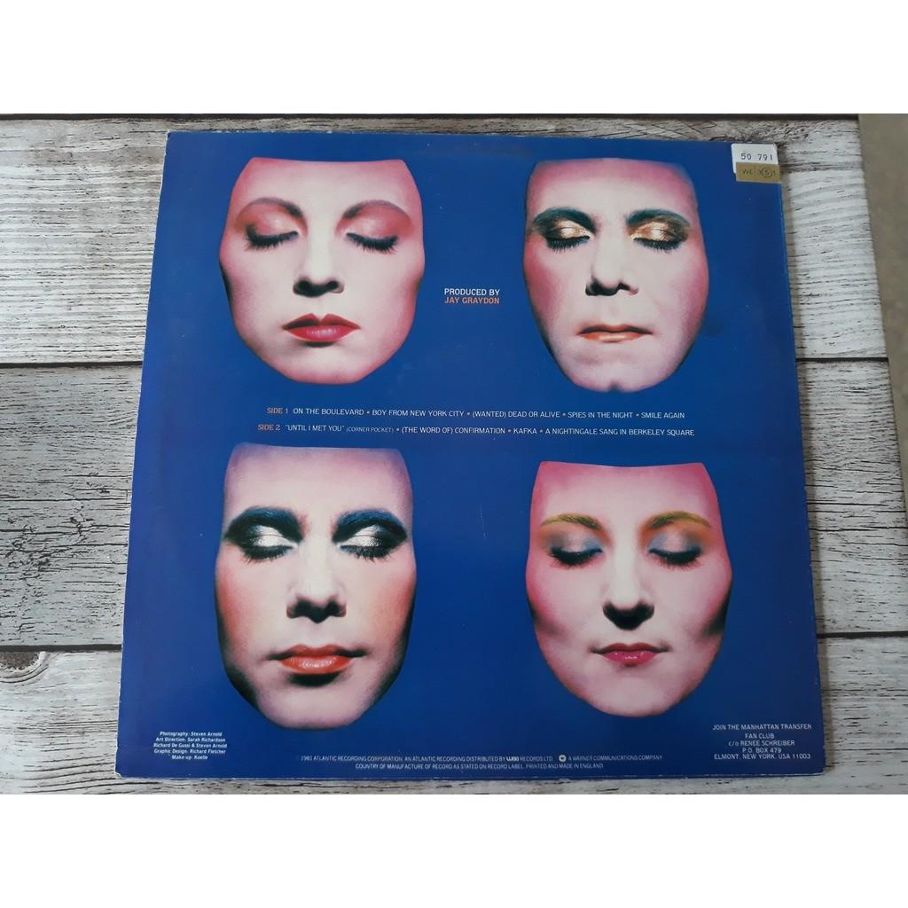 The Manhattan Transfer - Mecca For Moderns (LP, Al The Manhattan Transfer - Mecca For Moderns (LP, Album)