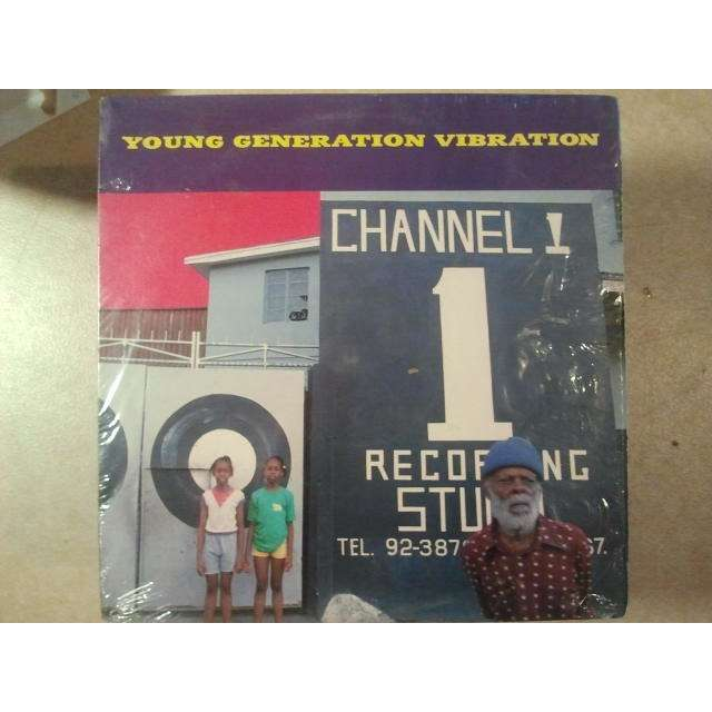 VARIOUS ARTISTS Young Generation Vibration ORIG.