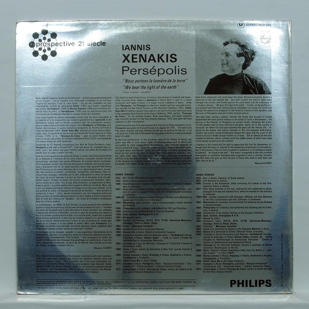 xenakis Persepolis