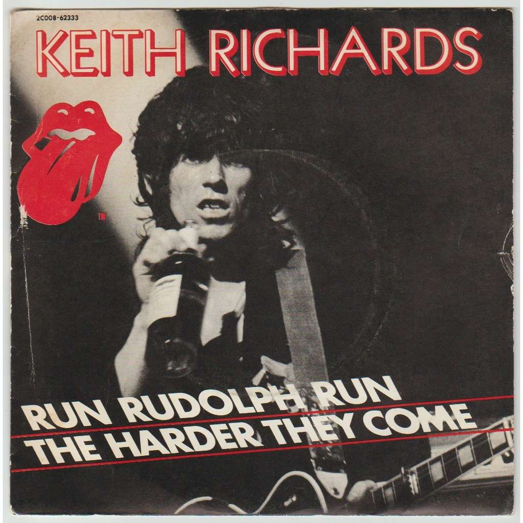 KEITH RICHARDS Run Rudolph run