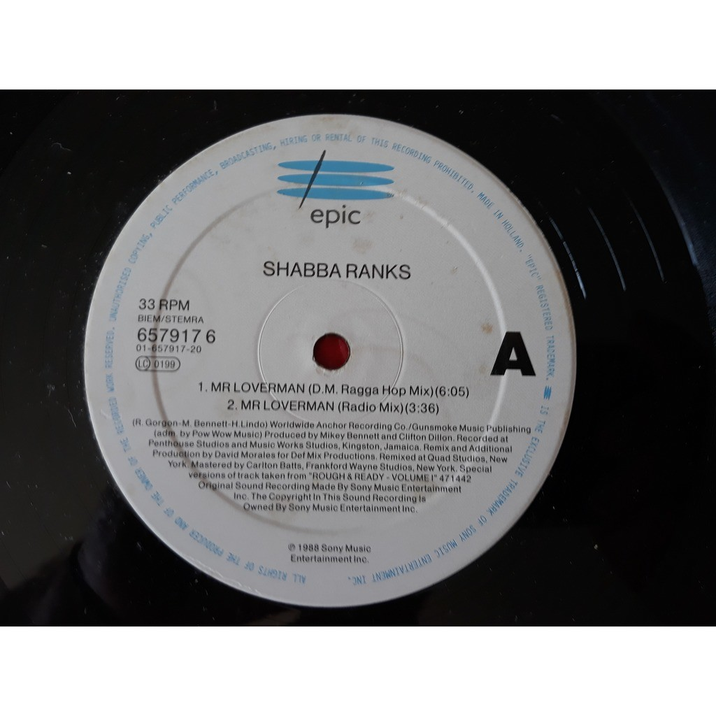 Shabba Ranks - Mr. Loverman (12) Shabba Ranks - Mr. Loverman (12)