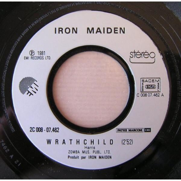iron maiden twilight zone / wrathchild