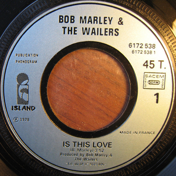 BOB MARLEY & THE WAILERS IS THIS LOVE / EASY SKANKING